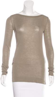 Brunello Cucinelli Embellished Wool Top