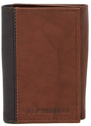 Ben Sherman Colorblock Leather Wallet