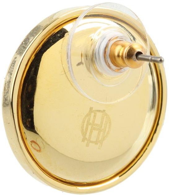 House Of Harlow Sunburst Button Earrings Earring