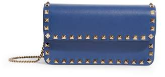 Valentino Leather Rockstud Pouch