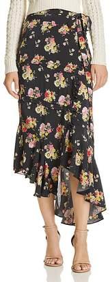 Preen Line Floral Wrap Skirt