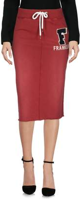 Franklin & Marshall Knee length skirts - Item 35325609EO