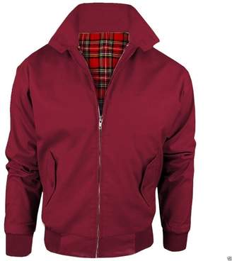 Oasis Fashion Men's Harrington Classic Vintage Retro 1970's Bomber Mod Jacket Sizes S-XL