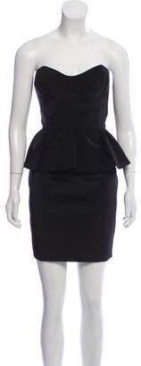 ABS by Allen Schwartz Strapless Mini Dress