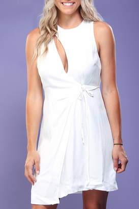 Do & Be White Cut-Out Dress