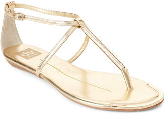 Dolce Vita Gold Metallic Archer Flat Sandals