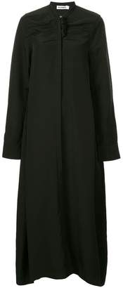 Jil Sander bow ribbon shirt dress