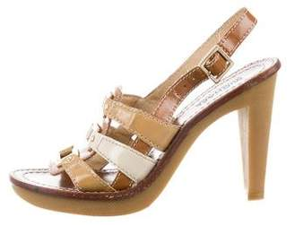 MICHAEL Michael Kors Ankle Strap Leather Sandals
