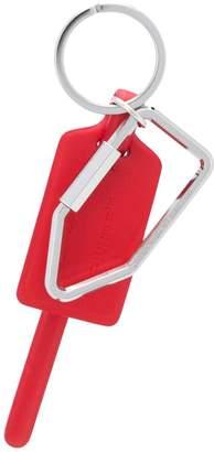 Off-White zip tie keyring