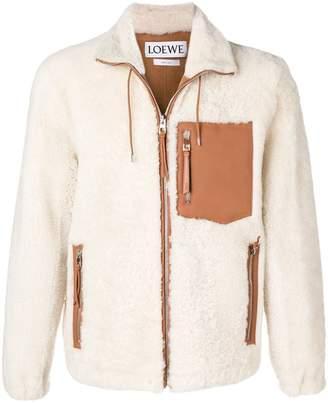 Loewe short fur coat