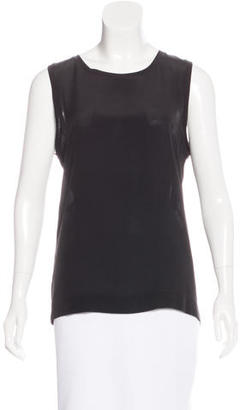 Reiss Silk Sleeveless Top w/ Tags $70 thestylecure.com