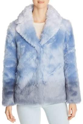 Unreal Fur Icebreaker Ombré Short Faux Fur Coat