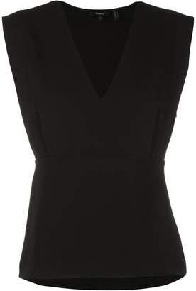 Theory v-neck blouse