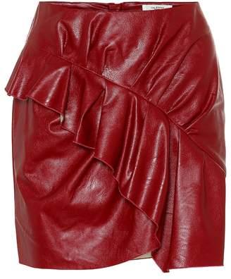 Etoile Isabel Marant Isabel Marant, étoile Zeist faux leather miniskirt