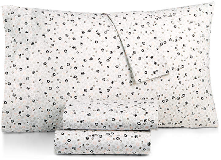 Cotton Percale 200 Thread Count Ditsy Floral Twin Xl Sheet Set Bedding