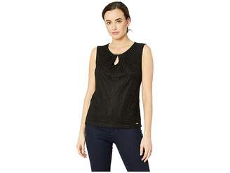 Calvin Klein Sleeveless Knit Pullover Women's Clothing