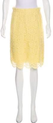 Dolce & Gabbana Lace Knee-Length Skirt