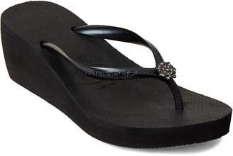 2ffdb6683fa1 Havaianas High Fashion Wedge Flip Flops - ShopStyle