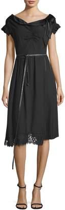 Marc Jacobs Two-Tone A-Line Dress