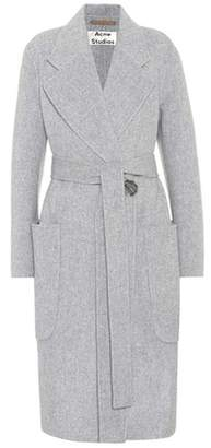 Acne Studios Carice wool and cashmere-blend coat
