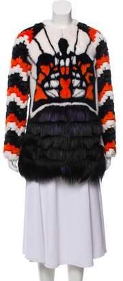 Fendi Mink & Goat Fur Jacket
