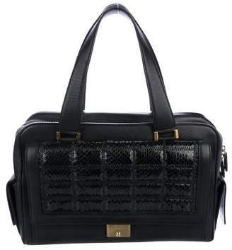 Jimmy Choo Smooth Leather Handle Bag