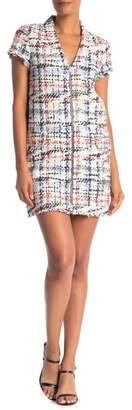 Rag & Bone Jane Zip Front Minidress