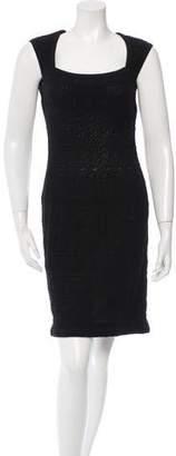 Alaia Textured Sheath Dress