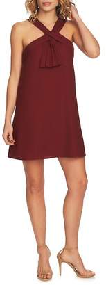 Cynthia Steffe CeCe by Briana Pleat Front Shift Dress
