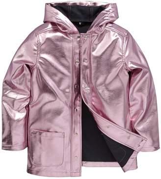 Very Metallic Raincoat
