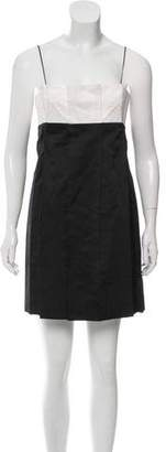 Marc Jacobs Strapless Bicolor Dress w/ Tags