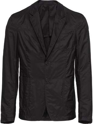 Prada technical nylon blazer