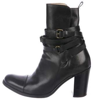 Sartore Leather Mid-Calf Bootds