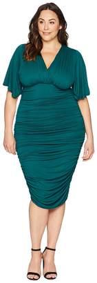 Kiyonna Rumor Ruched Dress Women's Dress