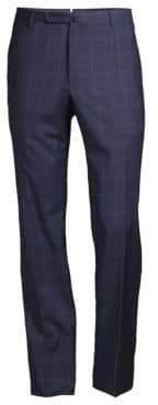 Incotex Super 110's Price of Wales Dress Pants