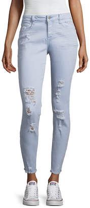 Arizona Skinny Fit Ankle Jeans-Juniors