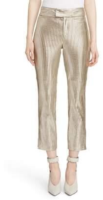 Isabel Marant Novida Metallic Leather Pants