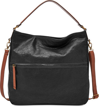 Fossil Corey Leather Hobo $218 thestylecure.com