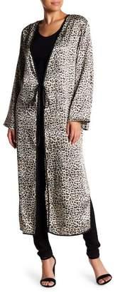 Love + Harmony Leopard Long Sleeve Kimono