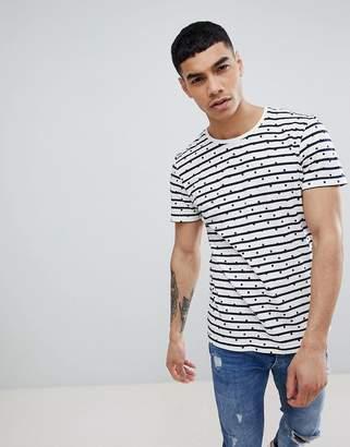 Jefferson Striped Dotted T-Shirt