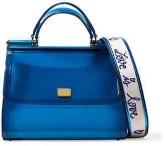 Dolce & Gabbana Sicily Large Pvc Tote - Blue