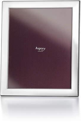 "Asprey Rectangular Sterling Silver 8"" x 10"" Frame"