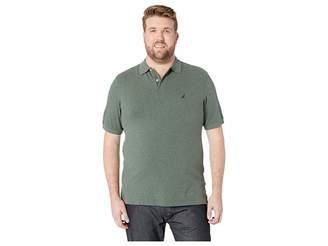 Nautica Big Tall Short Sleeve Solid Deck Shirt