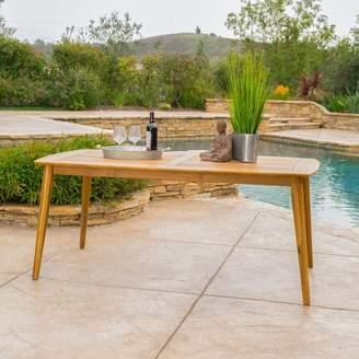 Beachcrest Home Telma Teak Dining Table