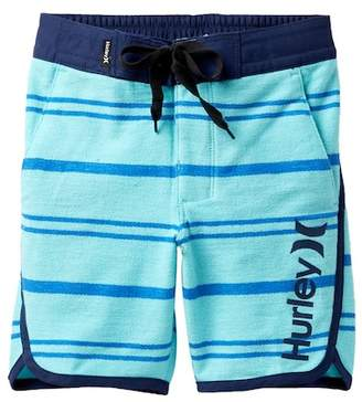 Hurley Striped Hangout Walk Shorts (Little Boys)