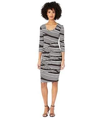 Nicole Miller Women's Striped Dress