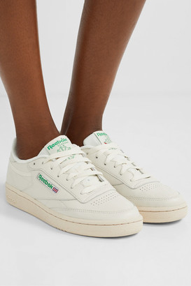 Reebok Club C 85 Vintage Leather Sneakers - Off-white