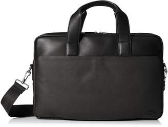 Lacoste Men's Rafael Leather Computer Bag