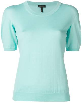 Escada short sleeve jumper