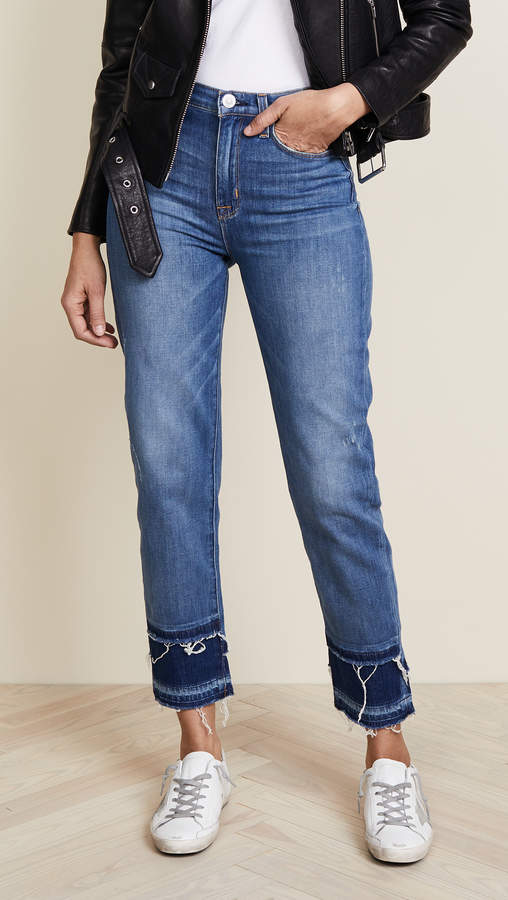 Zoeey High Rise Crop Jeans